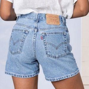 Levi's Vintage Mom Shorts